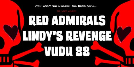 Red Admirals, Lindy's Revenge, Vudu 88 in the Lounge tickets