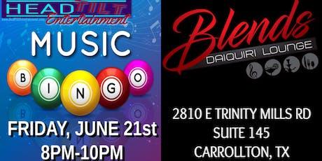 Music Bingo at Blends Daiquiri Lounge - Carrollton, TX tickets