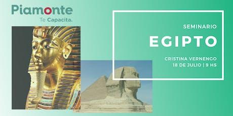 Seminario Egipto entradas