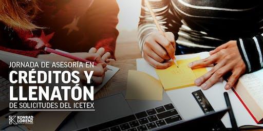 Jornada de Asesoría en Créditos y Llenatón de Solicitudes ante ICETEX