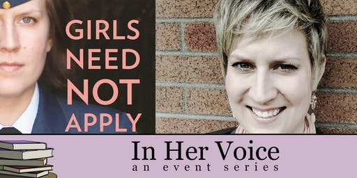 In Her Voice: Girls Need Not Apply Book Launch