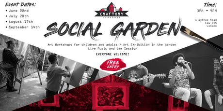 Social Garden  in JULY tickets