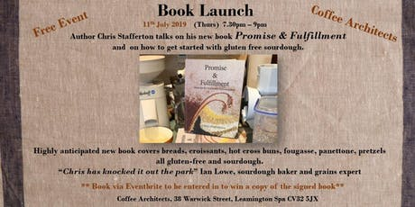 Promise & Fulfillment book launch - formulas for real bread without gluten tickets