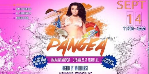 Pangea Miami Water Party