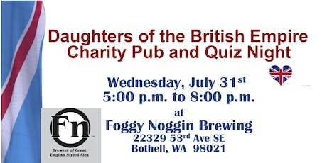 Pub Night Foggy Noggin tickets