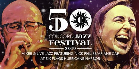 Visit Concord Evening Mixer & Live Jazz at Six Flags Hurricane Harbor tickets