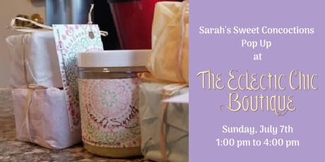 Sarah's Sweet Concoctions   Pop Up tickets