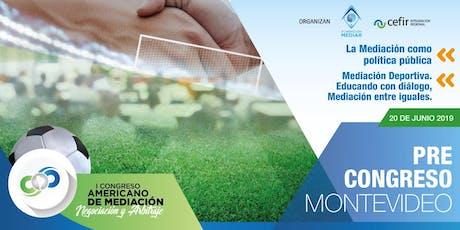 PRE CONGRESO MONTEVIDEO  tickets