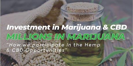 Millions in Marijuana tickets