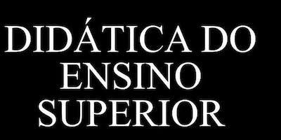 CURSO DIDÁTICA DO ENSINO SUPERIOR