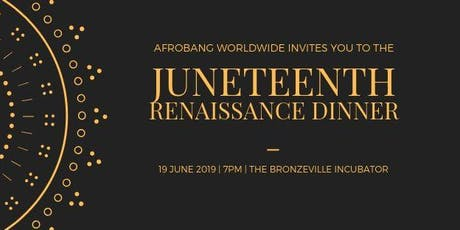 AfroBang Presents: Renaissance Dinner tickets