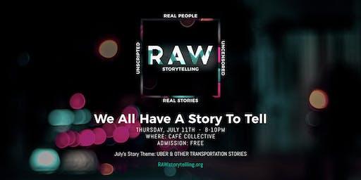 RAW Storytelling: Live True Storytelling Show [Fort Lauderdale]