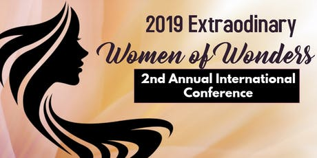 2nd Annual  Extraordinary Women of Wonders International Conference tickets