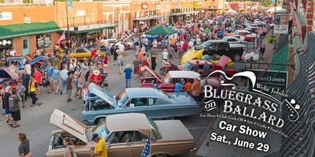 2019 Wylie Bluegrass on Ballard Car and Motorcycle Show Entry Form tickets