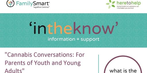 Cannabis Conversations for Parents of Youth and Young Adults