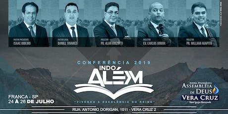Conferência Indo Além 2019 ingressos