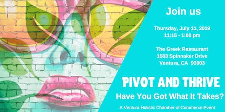 Pivot and Thrive In Your Holistic Business tickets