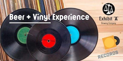 Beer + Vinyl Pairing Experience