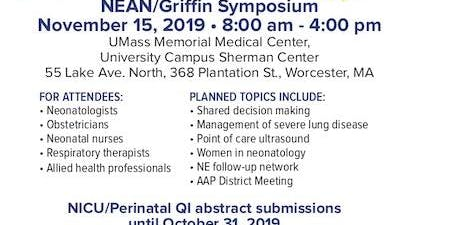 20th Braden E. Griffin, MD Memorial Symposium - UMass Memorial Children's Medical Center