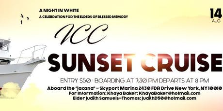 ICC Sunset Cruise tickets