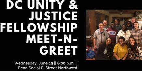 DC Unity & Justice Fellowship: Meet-n-Greet tickets
