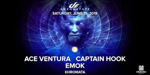 Ace Ventura, Captain Hook, Emok