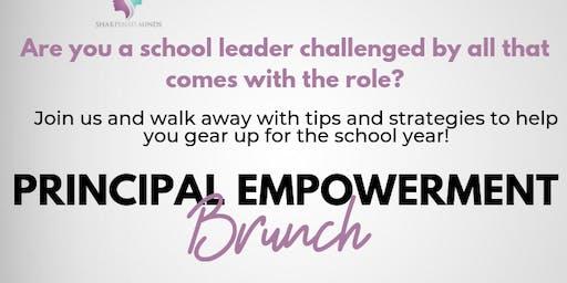 """Principal Empowerment Brunch - Featuring April Ervin Author of """"The Burnout Factor"""""""