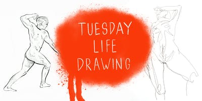 Tuesday Life Drawing @ *** Artist