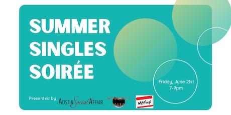 Summer Singles Soirée tickets