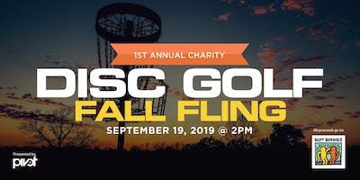 Best Buddies 1st Annual Fall Fling Disc Golf Tournament