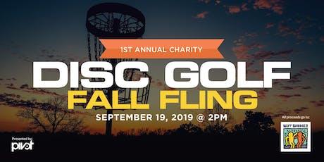 Best Buddies 1st Annual Fall Fling Disc Golf Tournament tickets