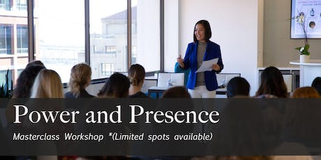 Power and Presence Masterclass tickets