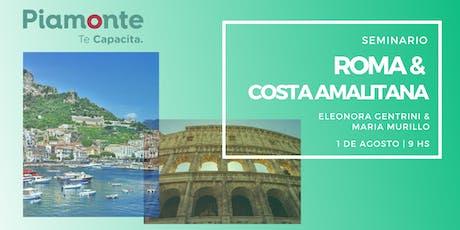 Seminario Roma & Costa Amalfitana entradas