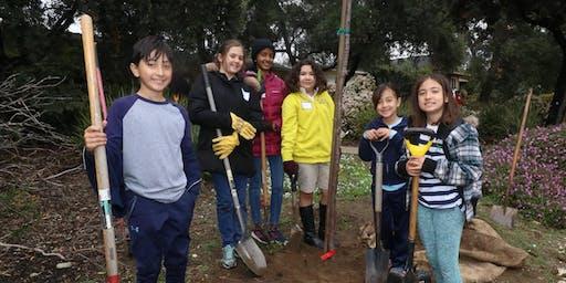 Green Crew Planting in Rancho Cucamonga!