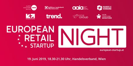 EUROPEAN RETAIL STARTUP NIGHT 2019 Tickets