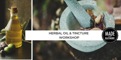 Herbal Oil and Tincture Workshop