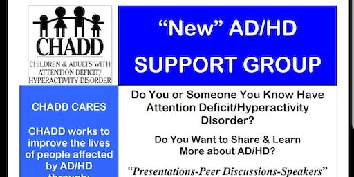 New CHADD ADHD Support Group in Germantown