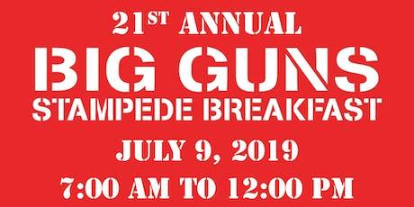 Big Guns Stampede Breakfast tickets