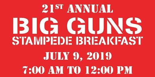 Big Guns Stampede Breakfast