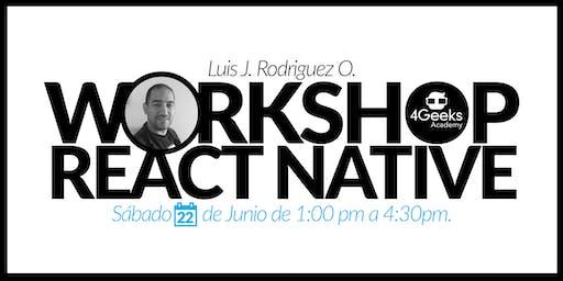 Workshop: Crea un app en React Native