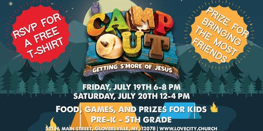 Gen Next Kids: Camp Out VBS