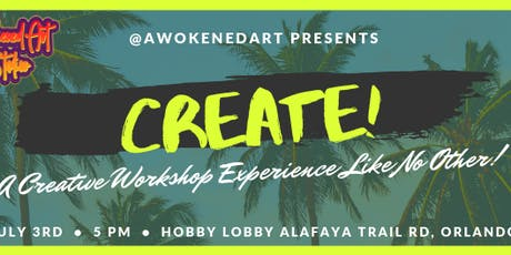 Awokened Art Presents: CREATE! Art Workshop tickets