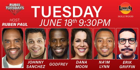 Godfrey, Erik Griffin and more - Rubee Tuesday! tickets