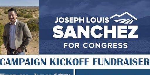 Joseph Sanchez for Congress Campaign Kickoff Fundraiser