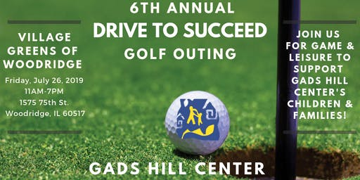 DRIVE TO SUCCEED - 6th Annual Golf Outing