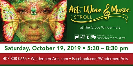 Art, Wine & Music Stroll at The Grove Windermere