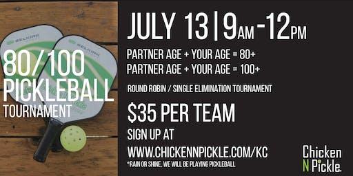 80/100 Pickleball Tournament