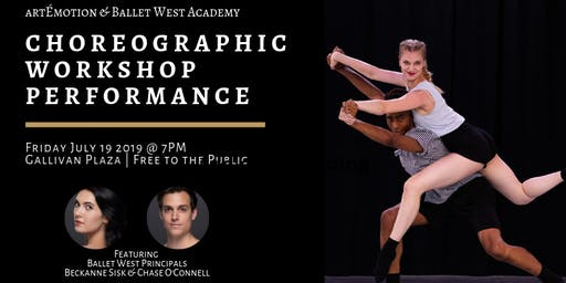 Choreographic Workshop Performance by artÉmotion & Ballet West Academy
