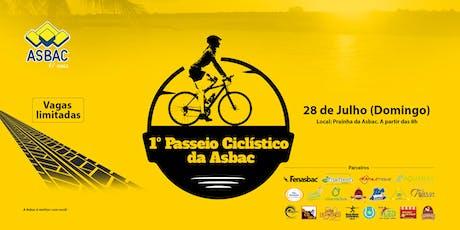 1º Passeio Ciclístico da Asbac Brasília ingressos