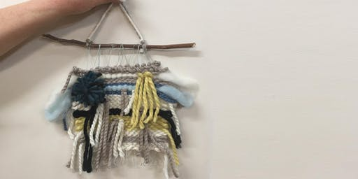 Weave your own wall hanging
